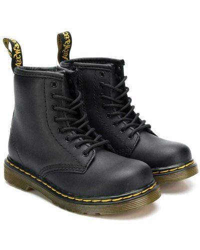 Черные ботинки Dr. Martens Kids