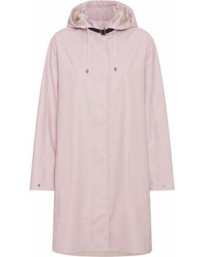 Różowy płaszcz przeciwdeszczowy Ilse Jacobsen Hornbæk