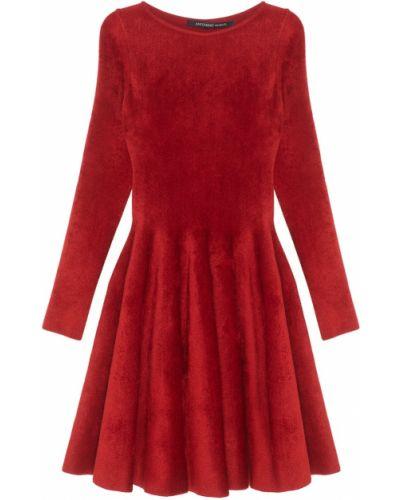 Платье классическое - красное Antonino Valenti