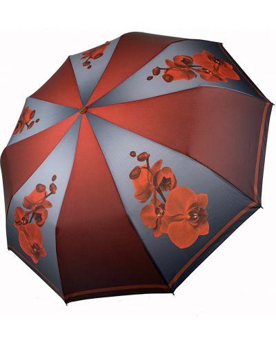 Красный автоматический зонт Flagman
