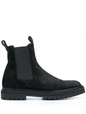 Кожаные ботинки челси - черные Officine Creative