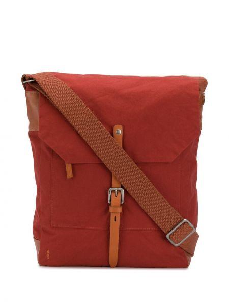 Красная кожаная сумка Ally Capellino