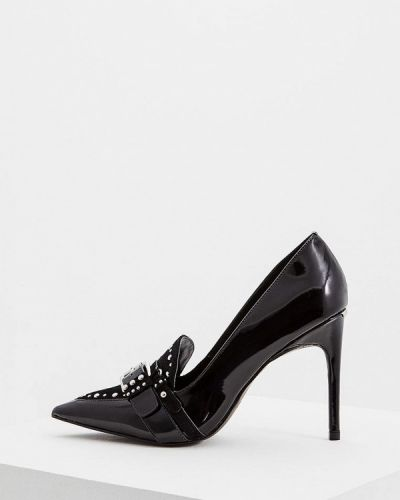 Кожаные туфли осенние на каблуке Liu Jo