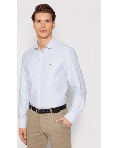 Koszula slim - niebieska Tommy Hilfiger Tailored
