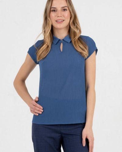 Синяя блузка Key