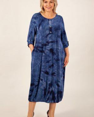 Платье в стиле бохо на пуговицах милада