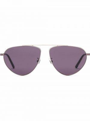 Okulary - fioletowe Gucci Eyewear