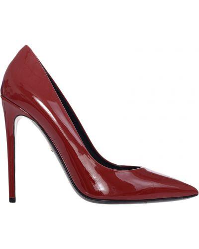 Кожаные туфли на каблуке Giorgio Fabiani
