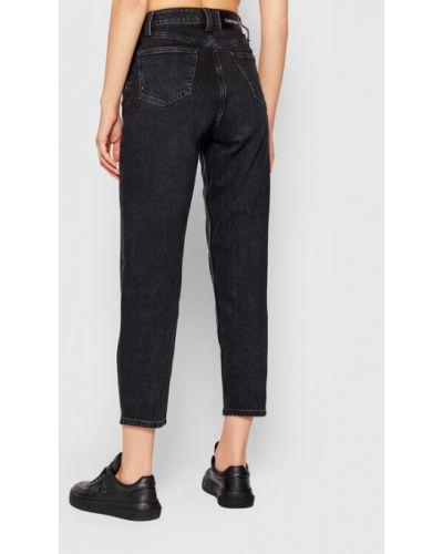 Czarne mom jeans Calvin Klein