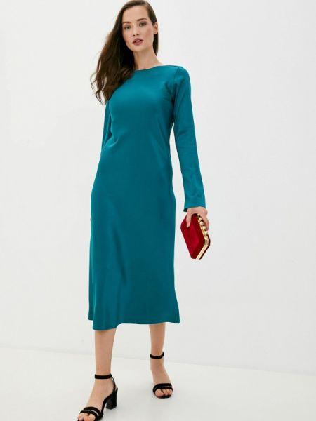 Зеленое вечернее платье Trendyangel