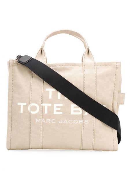Хлопковый топ - бежевый Marc Jacobs
