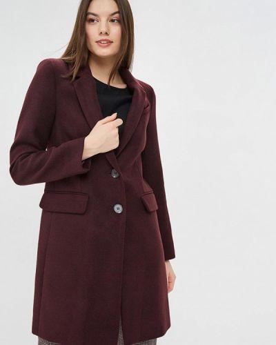 Пальто демисезонное бордовый Warehouse