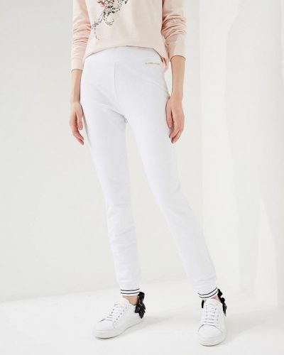 Белые спортивные брюки Blugirl Folies