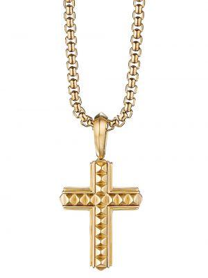 Krzyż złoto David Yurman
