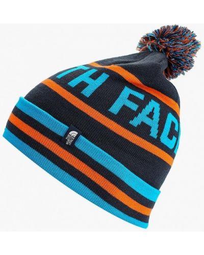Синяя шапка осенняя The North Face