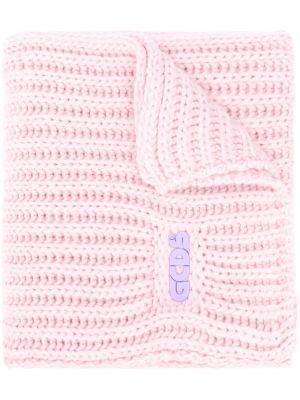 Szalik z wiskozy - różowy Gcds