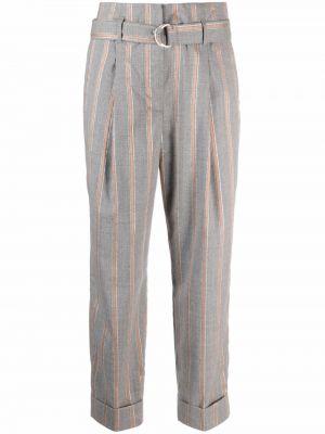 Серые брюки на шпильке Peserico