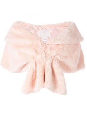 Różowa szal Unreal Fur
