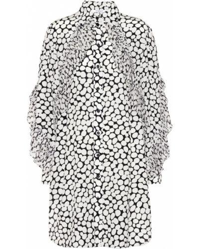 Biały jedwab sukienka Givenchy