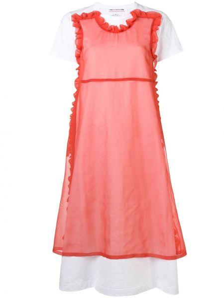 Платье мини миди футболка Comme Des Garçons Girl