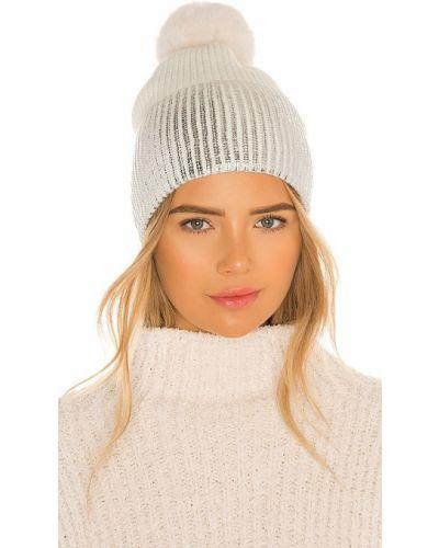 Пышная белая шапка бини из искусственного меха Jocelyn