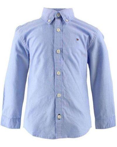 Klasyczna koszula oxford bawełniana z długimi rękawami Tommy Hilfiger