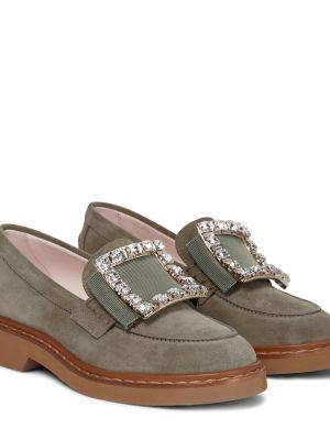Кожаные туфли Roger Vivier