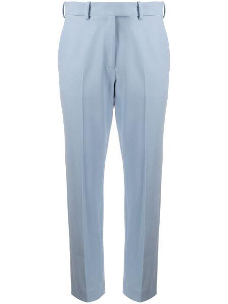 Niebieskie spodnie wełniane Racil