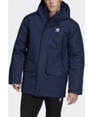 Утепленная куртка спортивная нейлоновая Adidas