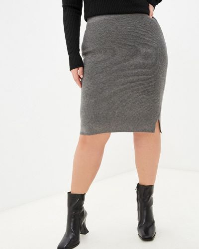 Прямая юбка - серая Rodier