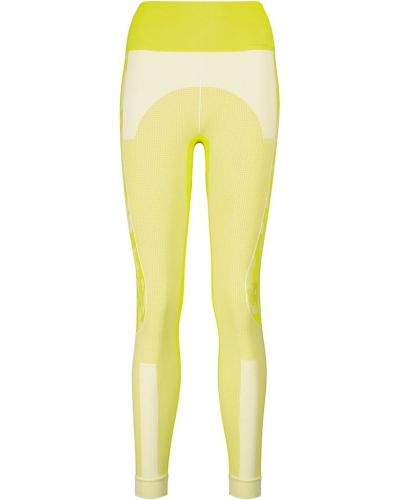 Желтые тренировочные леггинсы Adidas By Stella Mccartney
