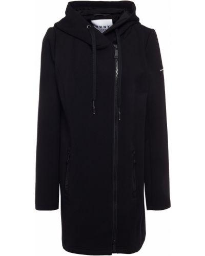 Куртка с капюшоном - черная Dkny
