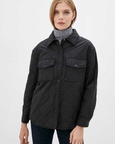 Черная демисезонная куртка Incity