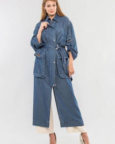 Синяя джинсовая куртка Maxa
