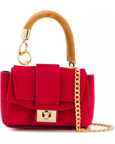 Красная сумка на цепочке Alila