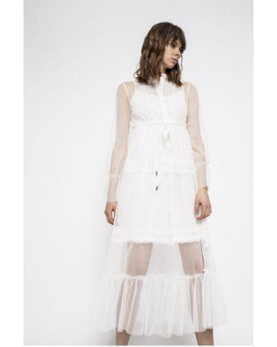 Платье мини однотонное свободного кроя Liu Jo