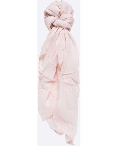 Розовый шарф с узором Answear