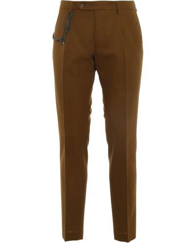 Brązowe spodnie Berwich
