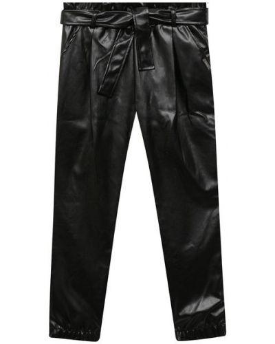 Кожаные брюки с подкладкой Msgm Kids