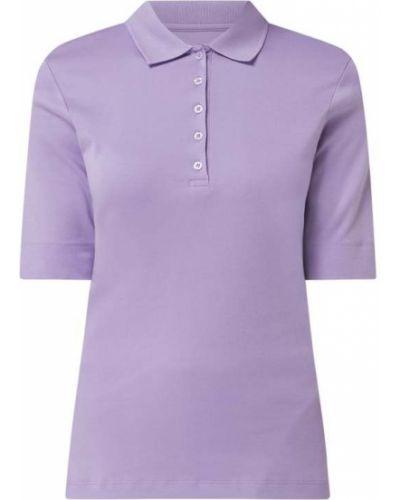 T-shirt bawełniana - fioletowa Christian Berg Women