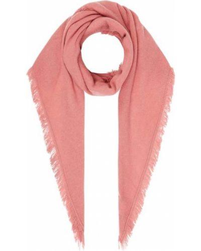 Kaszmir różowy chusteczka S.marlon