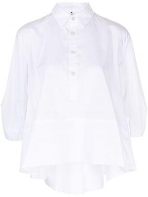 Хлопковая рубашка - белая Comme Des Garçons Noir Kei Ninomiya