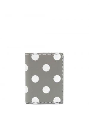 Portfel skórzany - biały Comme Des Garçons Wallet