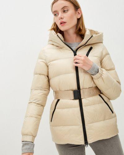 Бежевая куртка осенняя Calvin Klein