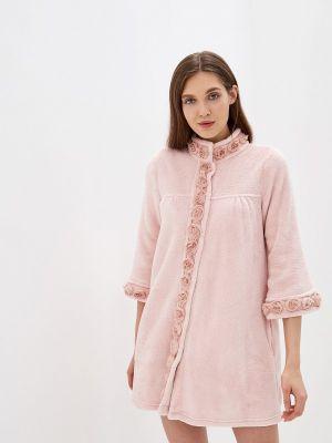 Домашний халат - розовый Lelio
