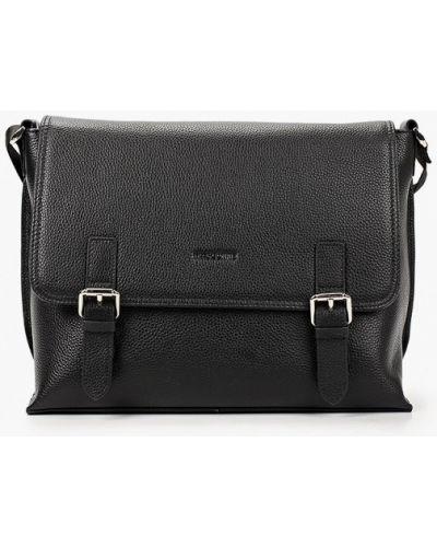 Кожаная сумка - черная Mascotte