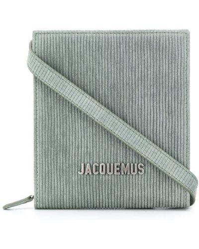 С ремешком кожаная сумка на плечо на молнии Jacquemus