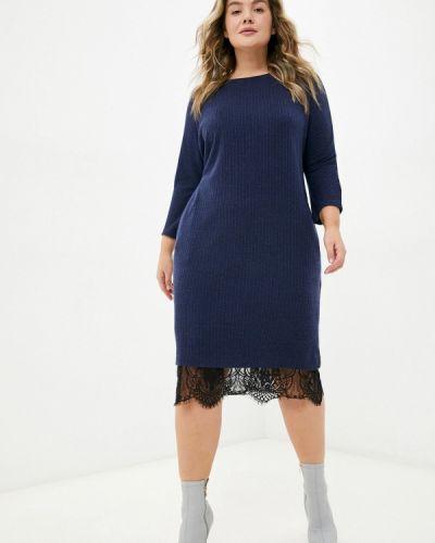 Платье свитер - синее Svesta