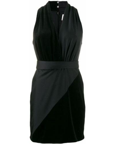 Платье с V-образным вырезом для невысоких Fausto Puglisi
