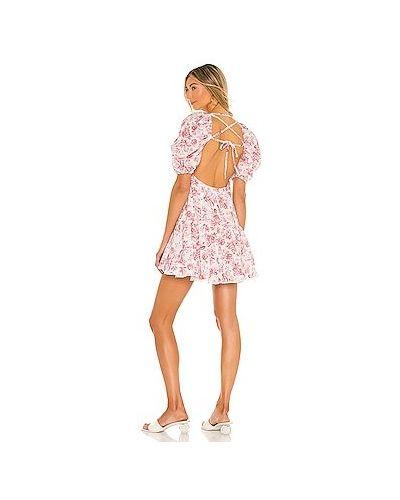 Гипюровое кружевное платье на молнии Minkpink